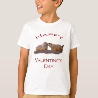 Valentin dagkyss t-shirt
