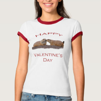 Valentin dagkyss tee shirt