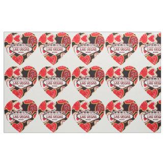 Valentin för Las Vegas hjärtaKAKOR tyg för dag