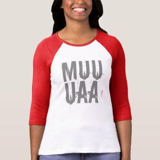 valentin för muuaakärlek kyssande t-skjorta för t-shirt