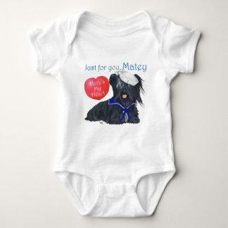 Valentin för sjöman för Skye Terrier T Shirts