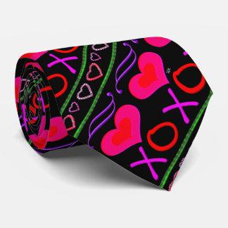 Valentin för U-plockafärg dag kramar och kysser Slips