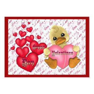 Valentin inbjudan för dagparty