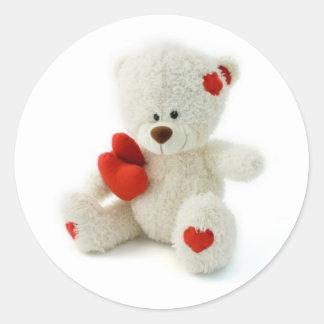 Valentin klistermärke för dagnalle