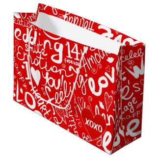 Valentin konst för ord för dag mång-