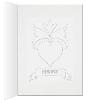 Valentin kort för daghälsning