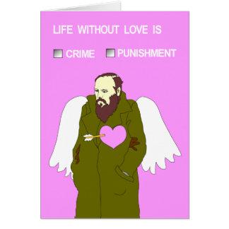 `-Valentin kort från Dostoevsky