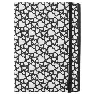 """Valentin mönster för daghjärtor. Anpassningsbar BG iPad Pro 12.9"""" Skal"""