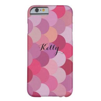 Valentin sjöjungfru för rosor för dagpersonlig barely there iPhone 6 skal