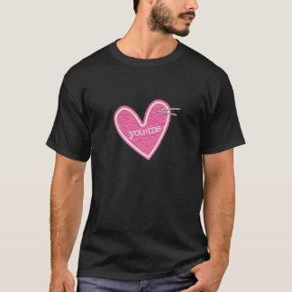 Valentin skjorta för daghjärta tee shirt