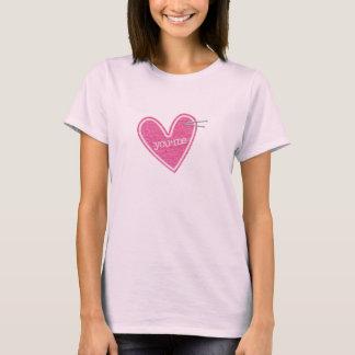 Valentin skjorta för daghjärta tshirts