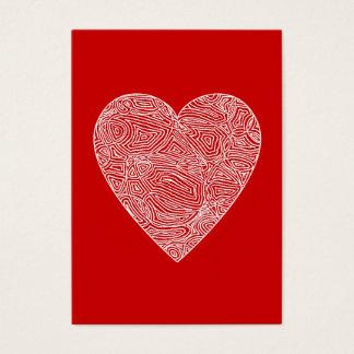 Valentines Visitkort