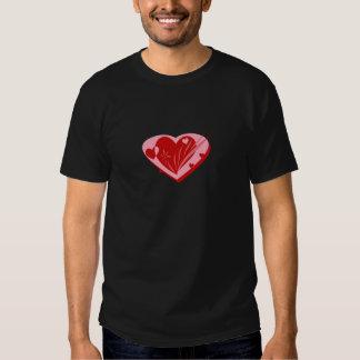 """Valentineshjärta"" design T Shirts"