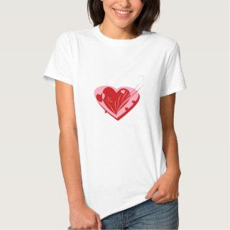 """Valentineshjärta"" design Tee"