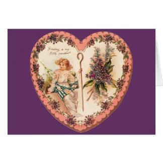 Valentinlilor Hälsningskort