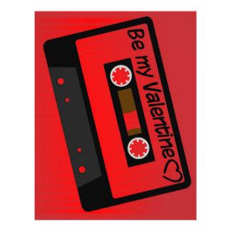 Valentinmusik Reklamblad 21,5 X 30 Cm