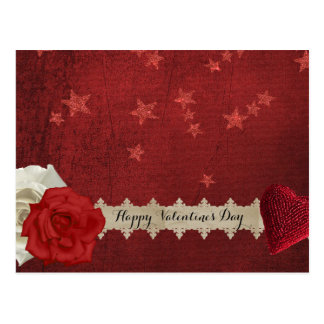 Valentinstjärnor och ro vykort
