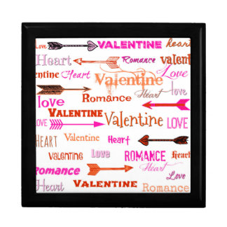 Valentintypografi Minnesask