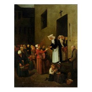Välgörenhet 1851 vykort