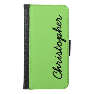VÄLJ DIN grönt för neon för fodral för plånboken