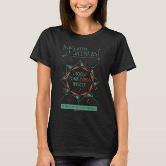 Välj ditt varar besvärad klokt - den Legilimens T-shirt
