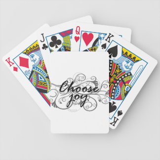 välj glädje spelkort