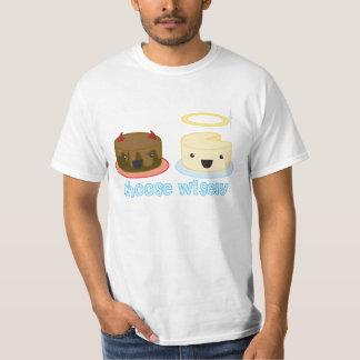 Välj klokt tee shirts