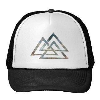 Valknut hatt keps