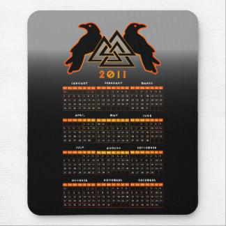 Valknut kalender Mousepad Mus Matta