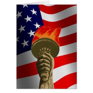 Välkommen ny U.S.-medborgare Hälsningskort