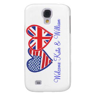 Välkommet Kate & William/kungligt bröllop Galaxy S4 Fodral