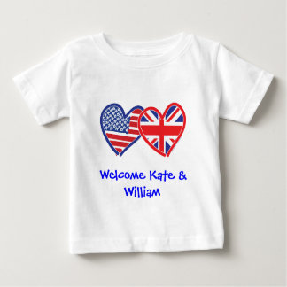 Välkommet Kate & William/kungligt bröllop Tee Shirts