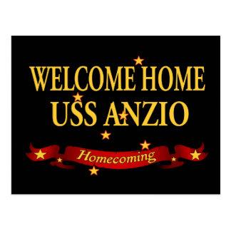 Välkomnande hem- USS Anzio Vykort