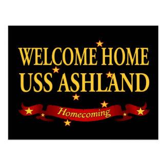 Välkomnande hem- USS Ashaland Vykort
