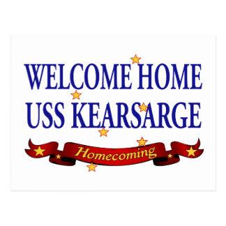 Välkomnande hem- USS Kearsarge Vykort