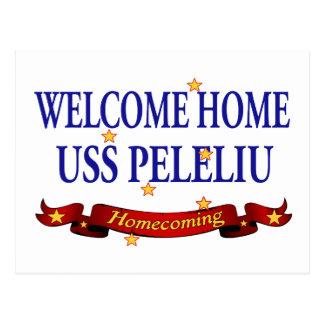 Välkomnande hem- USS Peleliu Vykort