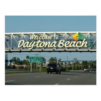 Välkomnande till Daytona Beach Vykort