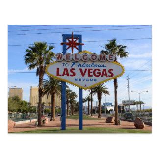 Välkomnande till den Las Vegas vykortet! Vykort