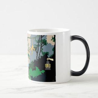 Välkomnande till den Morphing muggen för djungel Magisk Mugg