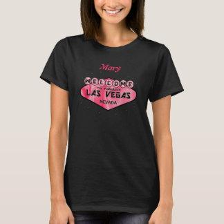 Välkomnande till den sagolika Las Vegas Retro T Shirt