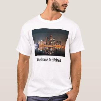 Välkomnande till Detroit T-shirts
