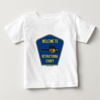 Välkomnande till omstruktureringslänet (chainsawen tröjor