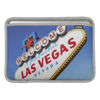 Välkomnande till sagolika Las Vegas MacBook Sleeve