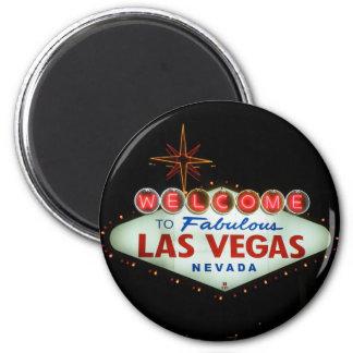 Välkomnande till sagolika Las Vegas - Nevada Magnet