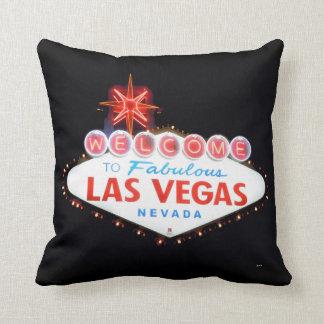 Välkomnandet/drev Las Vegas undertecknar Kudde