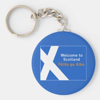 Välkomnandet till Skottland, undertecknar, UK Nyckelringar