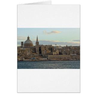 Valletta Hälsningskort