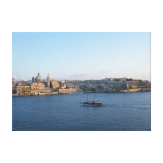 Valletta - Malta Canvastryck