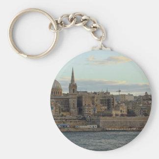Valletta Rund Nyckelring