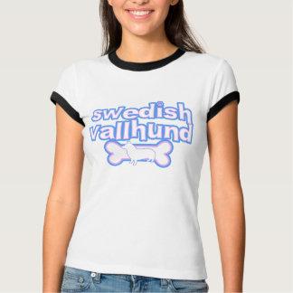 Vallhund för rosor & för blått svensk kvinna t shirts